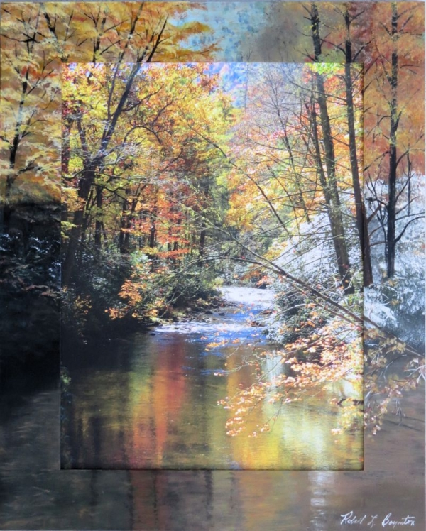 Roadside Stream-Autumn