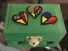Painted Heart box