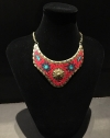 Red Cleopatra Themed India Style Necklace