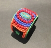 Black Authentic Indian Beaded Bracelet