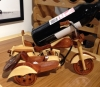 Motorcycle Wine Holder