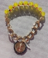 Yellow Beaded Cassandra