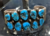 Old Pawn Native American Turquoise Bracelet