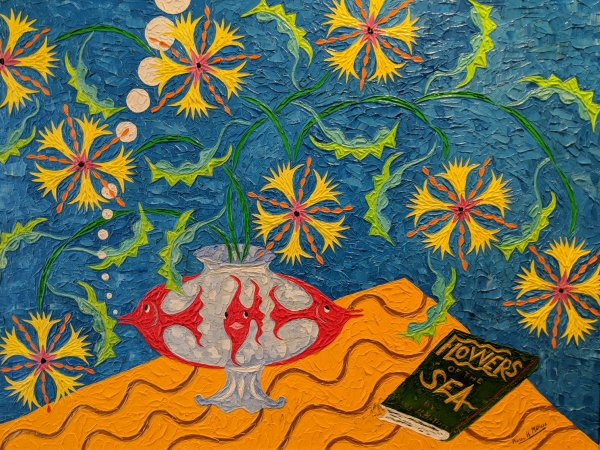 Pierre Matisse Flowers of The Sea