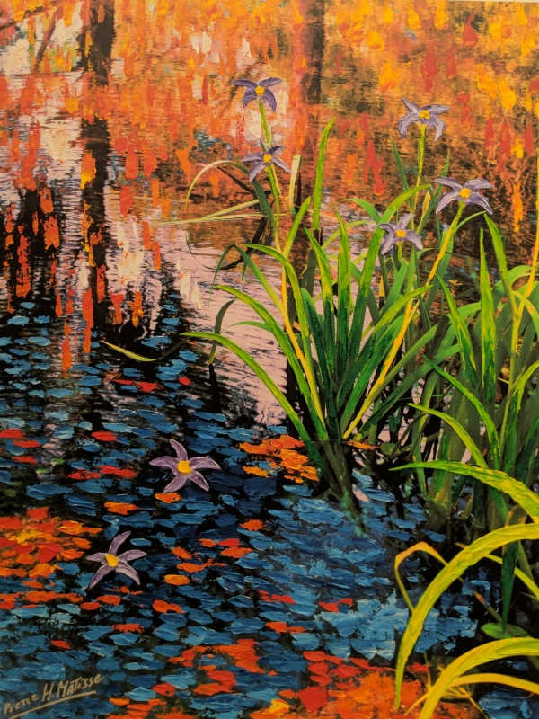 Pierre Matisse Florida Flower Stream
