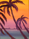 Sunset in the Keys (Original Sold)