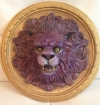 Purple Lion on Gold