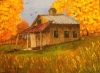 Tennessee Barn in the Fall Colors