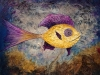 Yellow and Purple Sushi Fish
