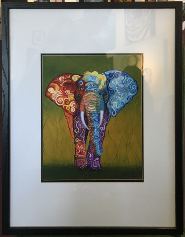 International elephant print