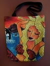 "Artist Original Design Bag...Mermaid ""All That Glitters"""