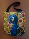 Artist Original Design Bag Peacock-esque