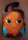 Artist Original Design Bag LITTLE GIRL, BIG IMPRESSION