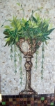 Weeping Fern in Classic Urn in White (sold)