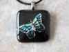 Dichroic Butterfly Pendant 2534